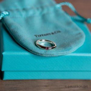 Authentic Tiffany & Co Elsa Peretti sapphire ring